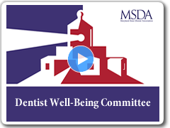 MSDA Dentist Well Being Committee video
